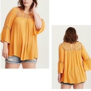 Torrid Top with Lace Detail